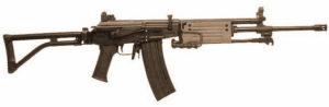 Le fusil d'assaut Galil