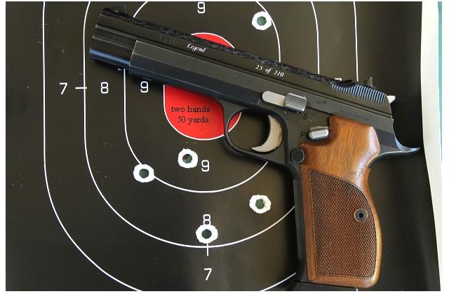 Sig P210 target