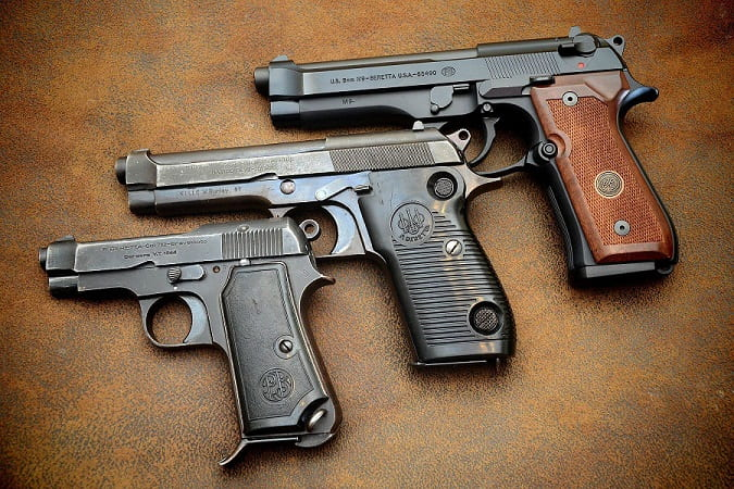 evolution pistolets Beretta